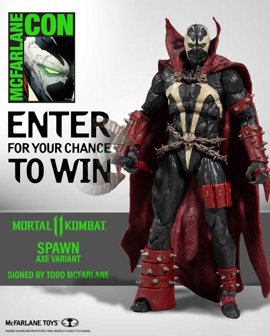 Mortal kombat 11 Spawn Action Figure by Mcfarlane Toys