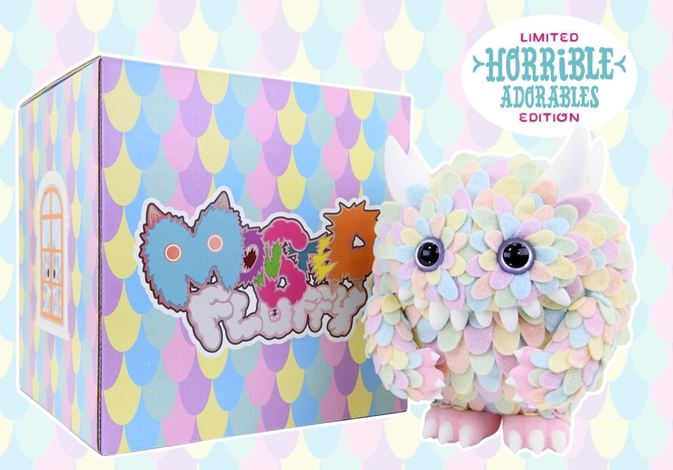 instinctoy x horrible adorables monster fluffy with box