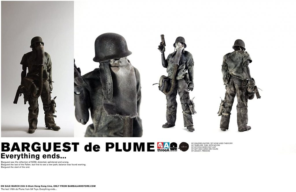 product image for ThreeA Barguest de Plume action figure