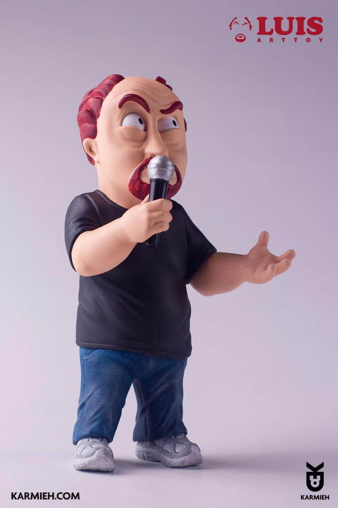 Karmieh's LUIS Standup Comedy Toy Promo Shot