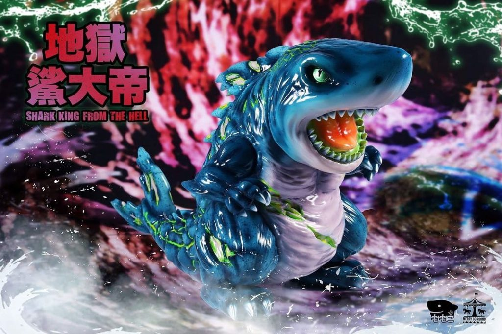 Taipei Toy Festival 2020 momoco shark king from the hell