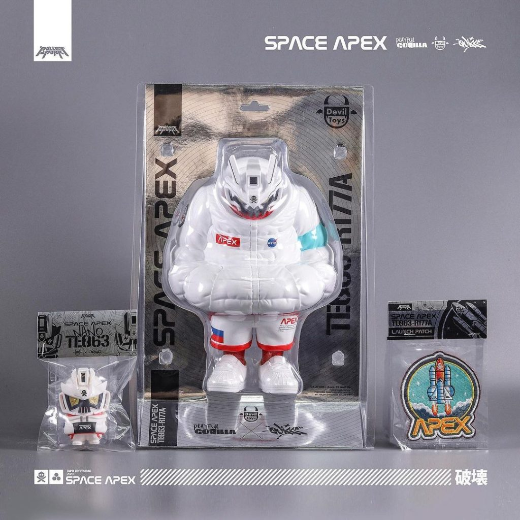 Taipei Toy Festival 2020 quiccs space apex set