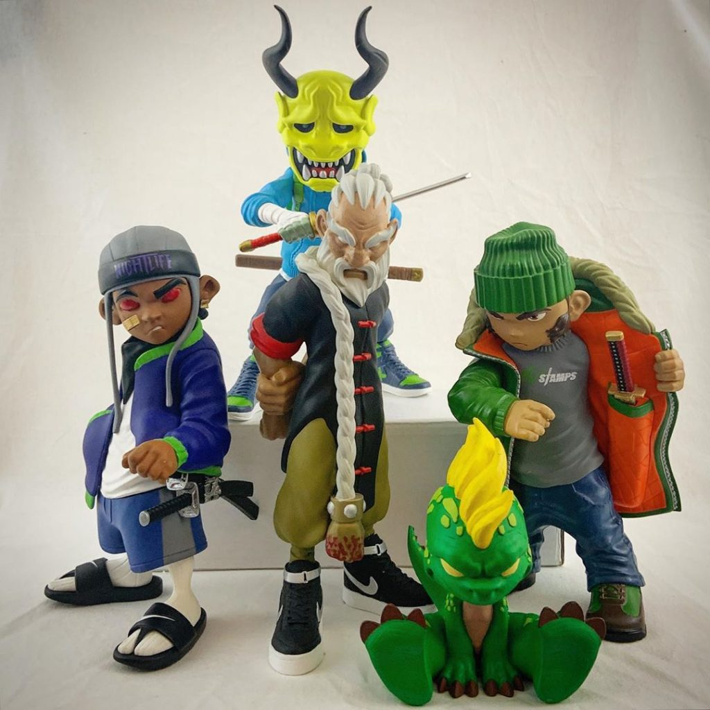 fu-stamps lineup with general trahn bodega blade demonio screwface and baby renzo