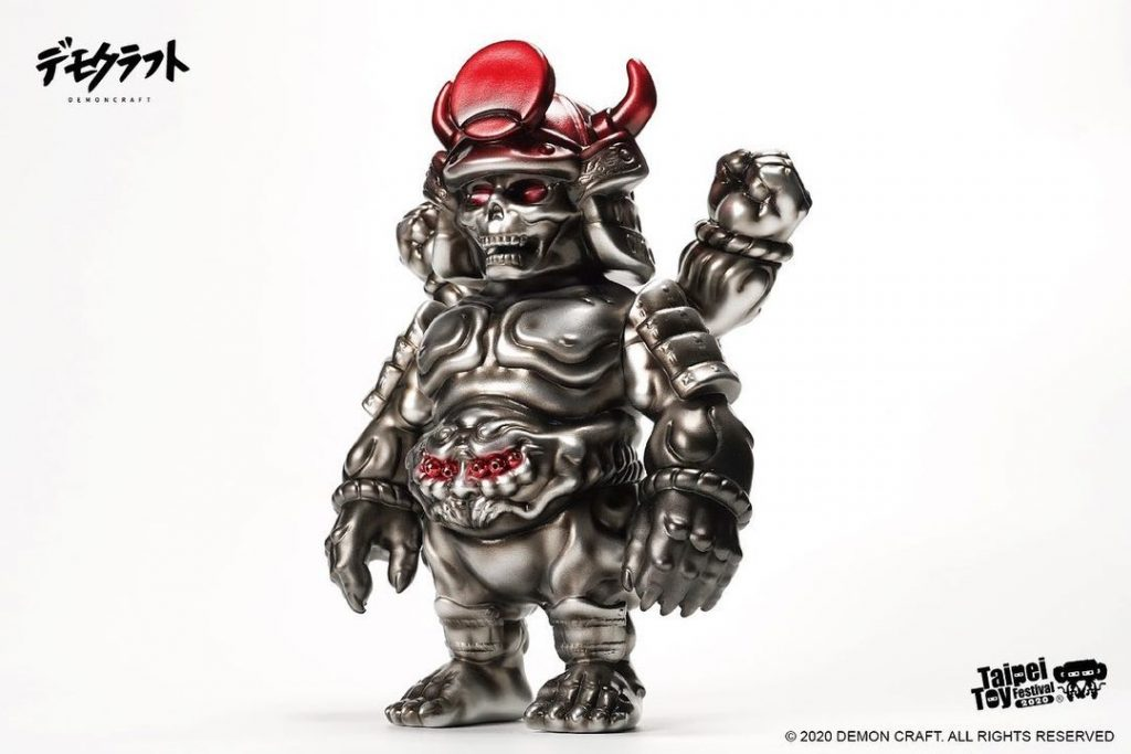 taipei toy festival 2020 demon craft bull ghost vinyl toy