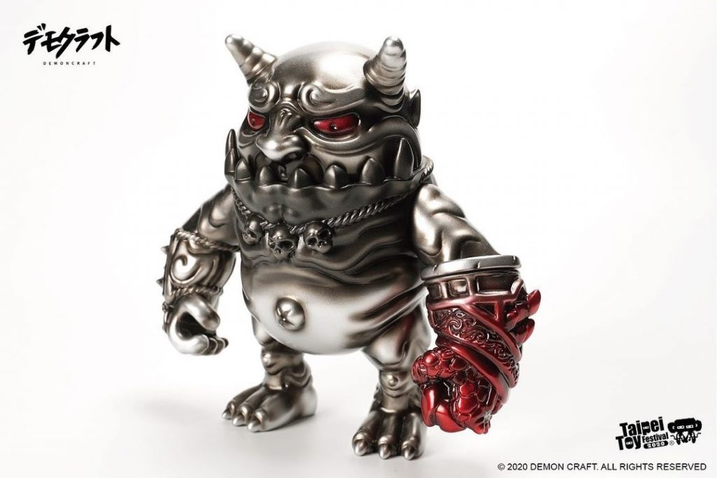 taipei toy festival 2020 demon craft craftsman ghost vinyl toy