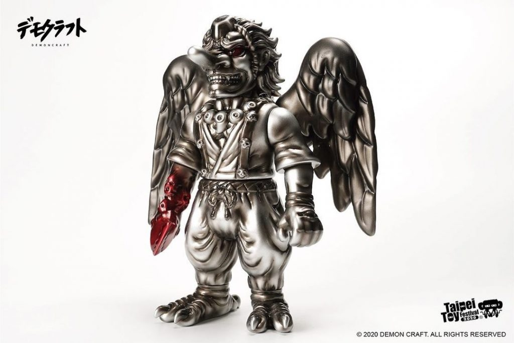 taipei toy festival 2020 demon craft tengu vinyl toy