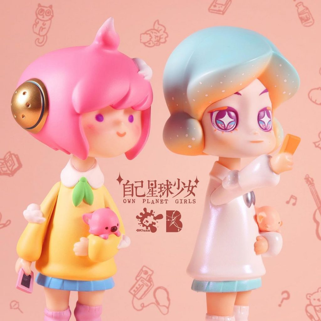 taipei toy festival 2020 okluna own planet girls