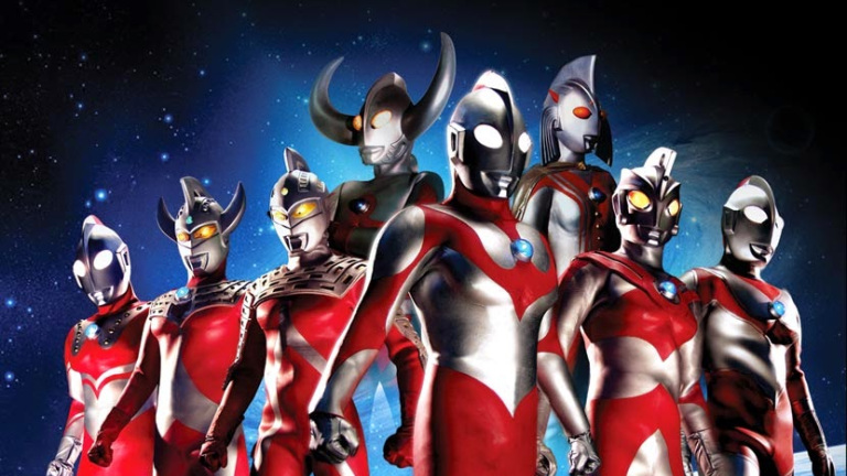 Ultramen brothers in a group