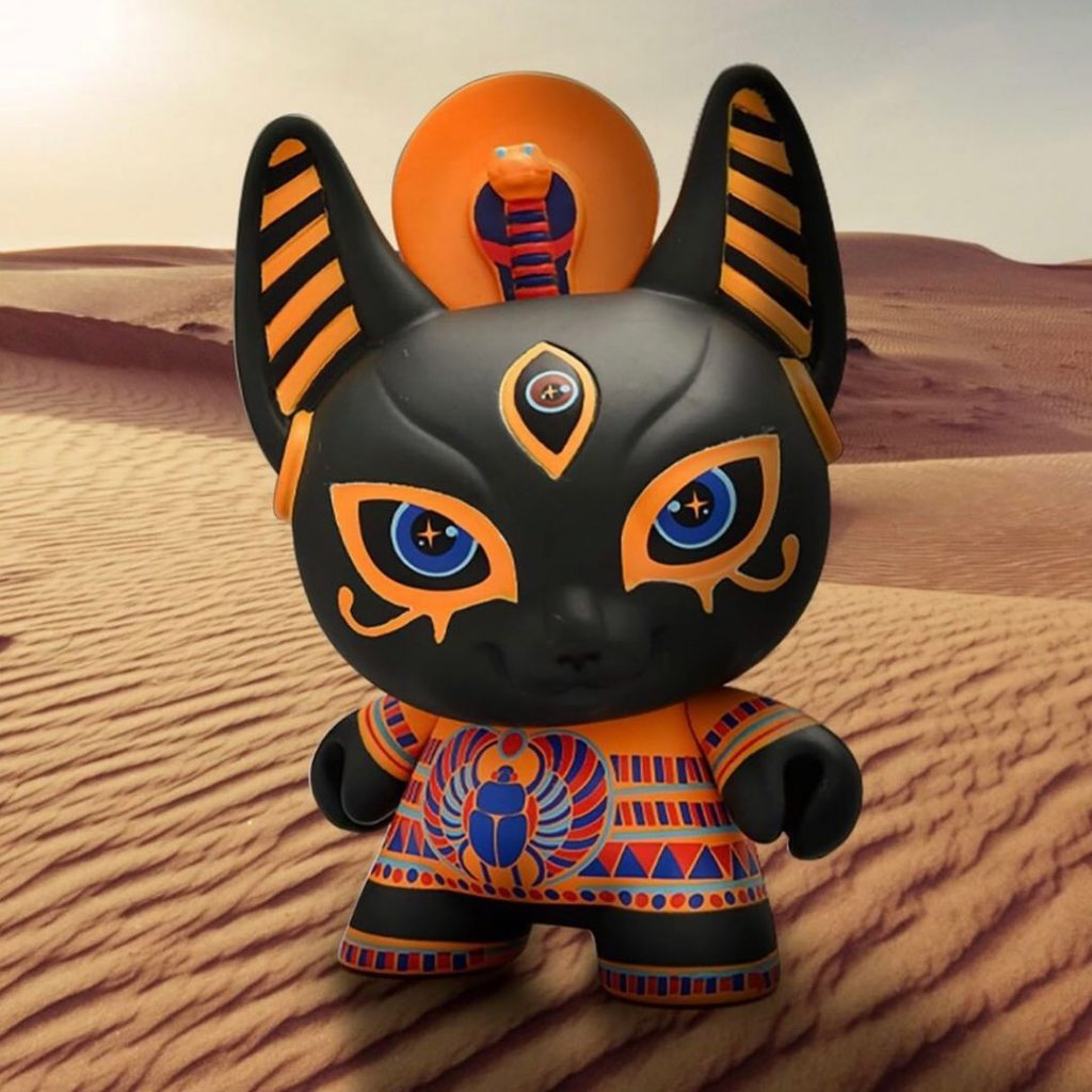 Bastet dunny by candie bolton for the spiritus dea dunny series