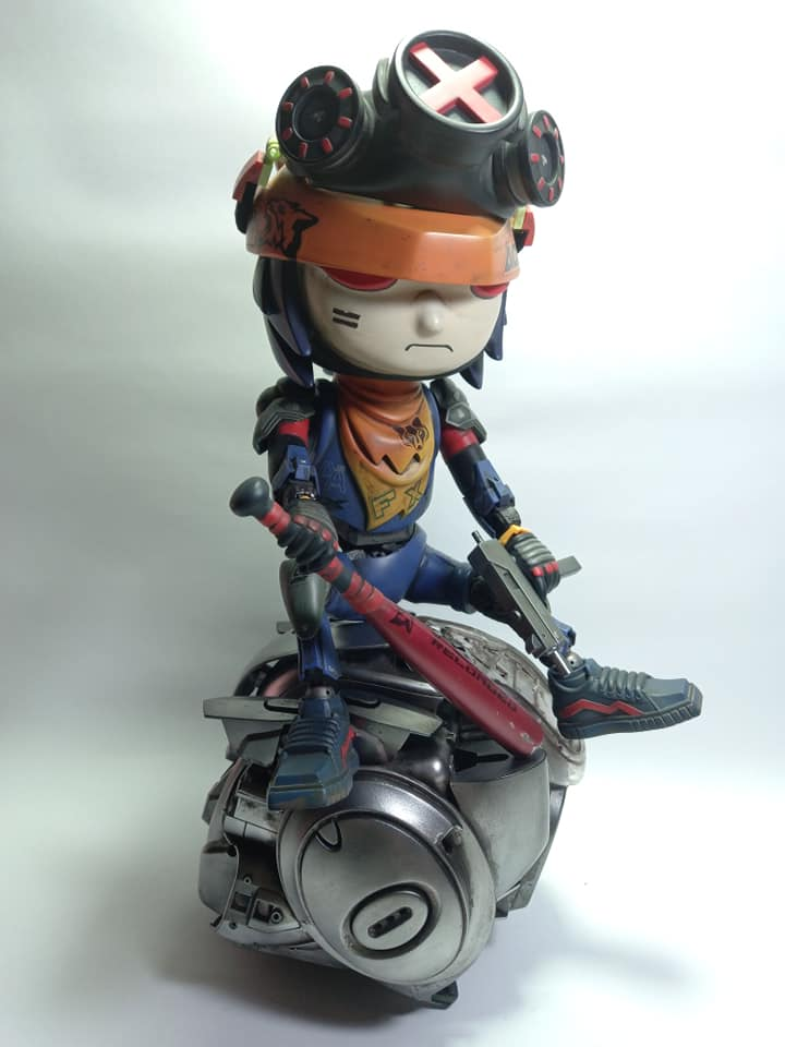 Dave Bedia Foxy Reloaded Custom Toy
