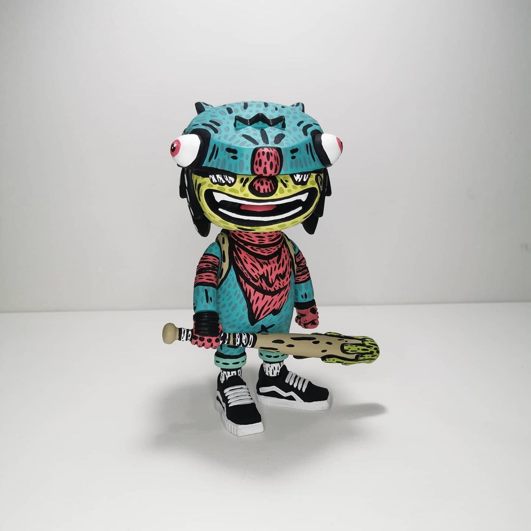 Distort Monsters Foxy Reloaded Custom Toy