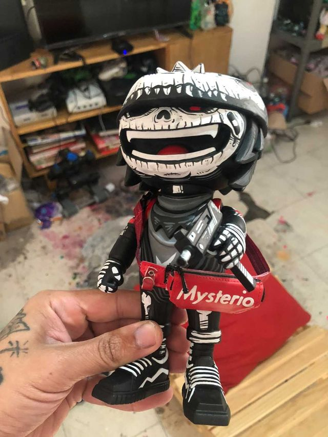 Frank Mysterio Foxy Reloaded Custom Toy