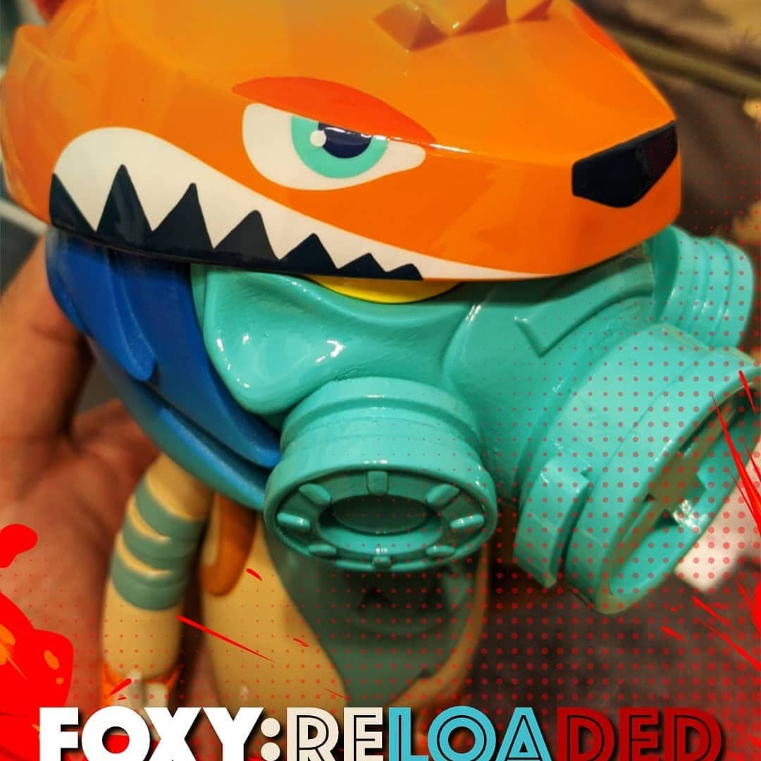 Kong Andri Foxy Reloaded Custom Toy