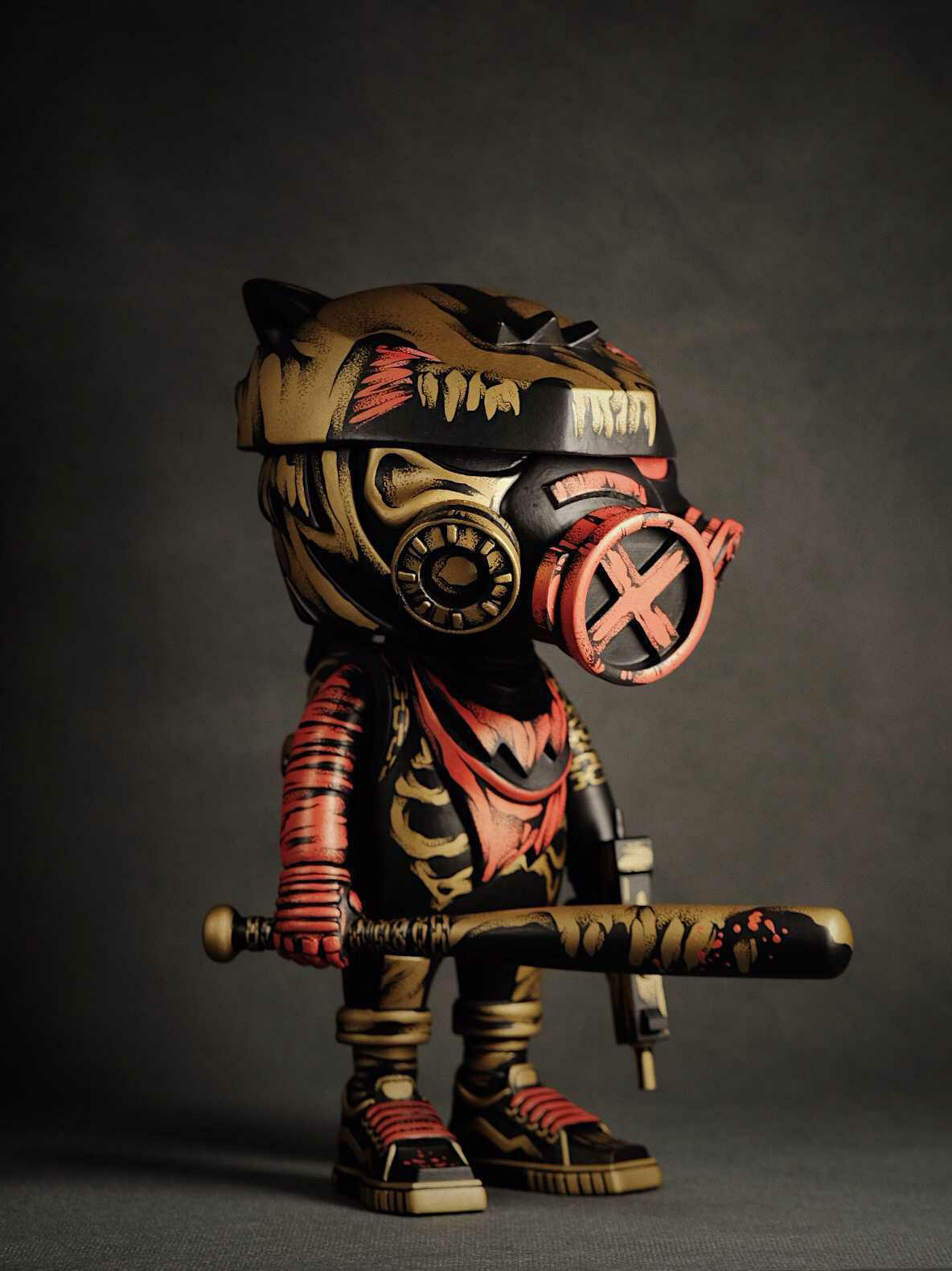 MrKumkum Foxy Reloaded Custom Toy