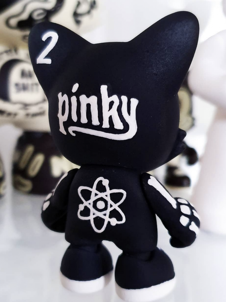Black and white Custom Janky by Christopher Luke