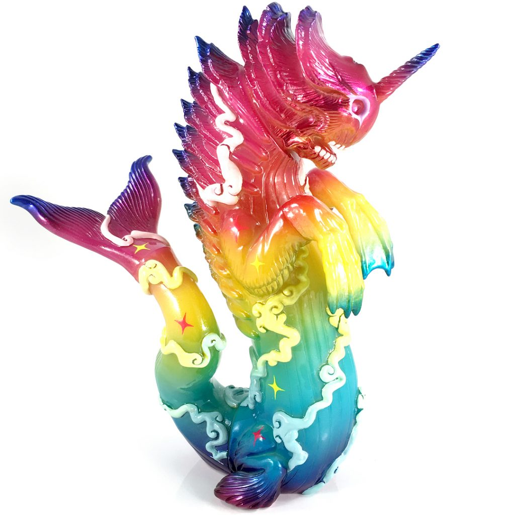 Hand Painted Bake-Kujira by Candie Bolton