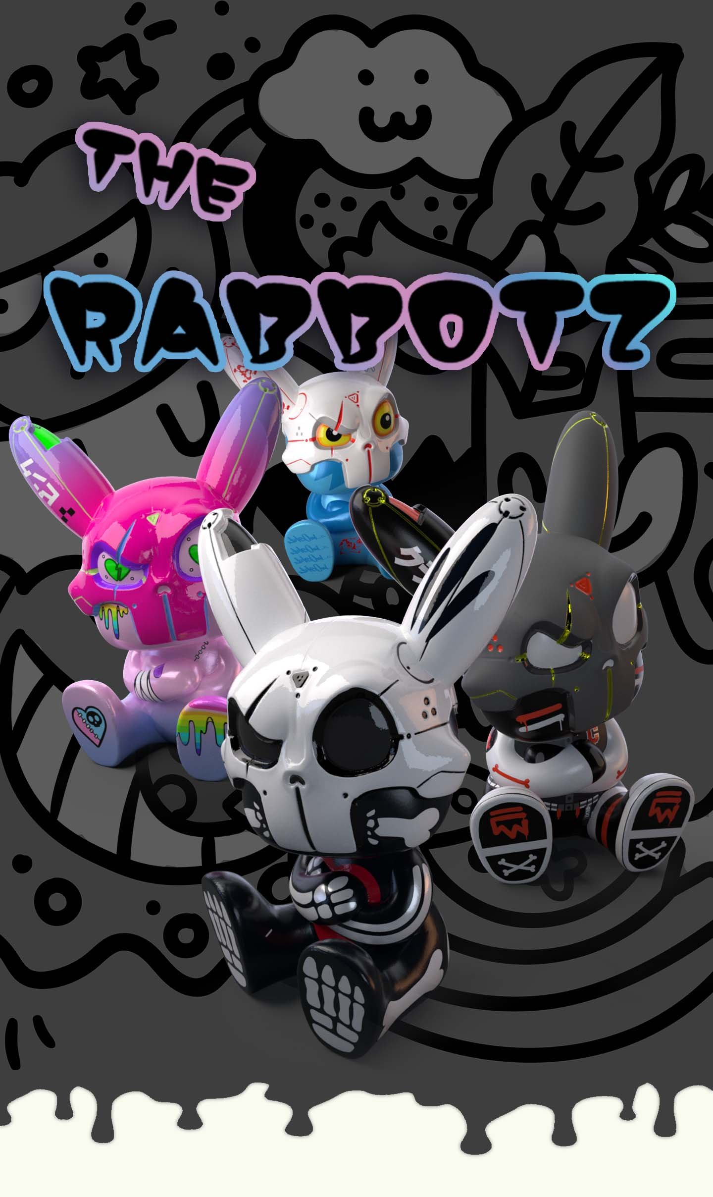 The Rabbotz official promo image