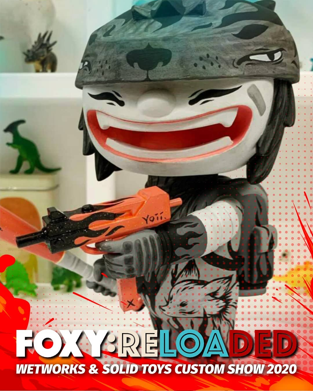 Yoii Foxy Reloaded Custom Toy