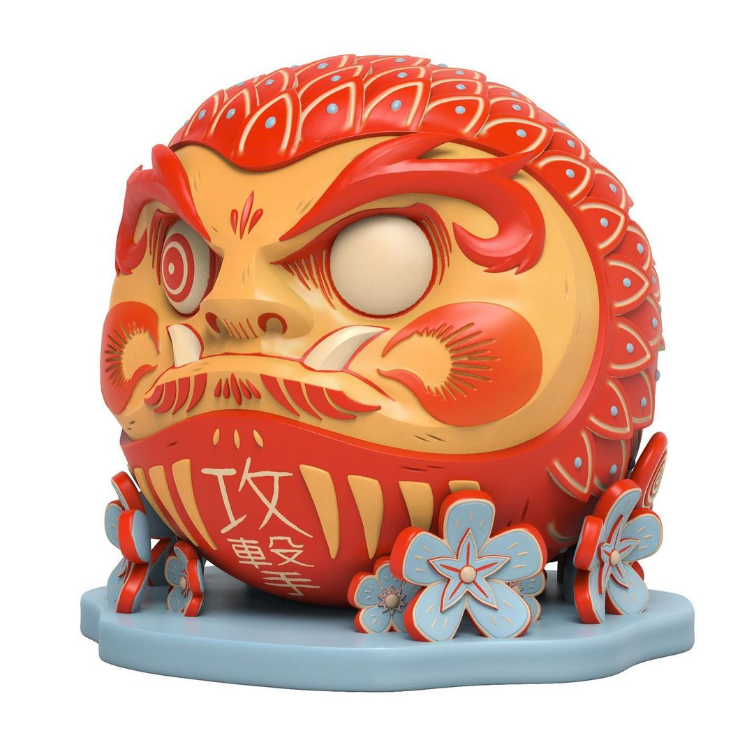 attack peter daruma left cant
