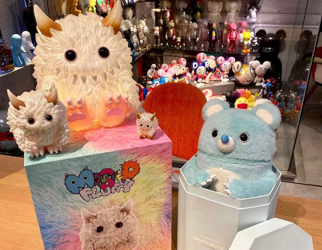 monster fluffy collection
