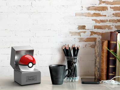 Poké Ball The Wand Company Desk Set Up Promo