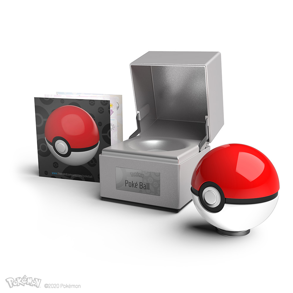 Poké Ball The Wand Company Promo With Manual And Box