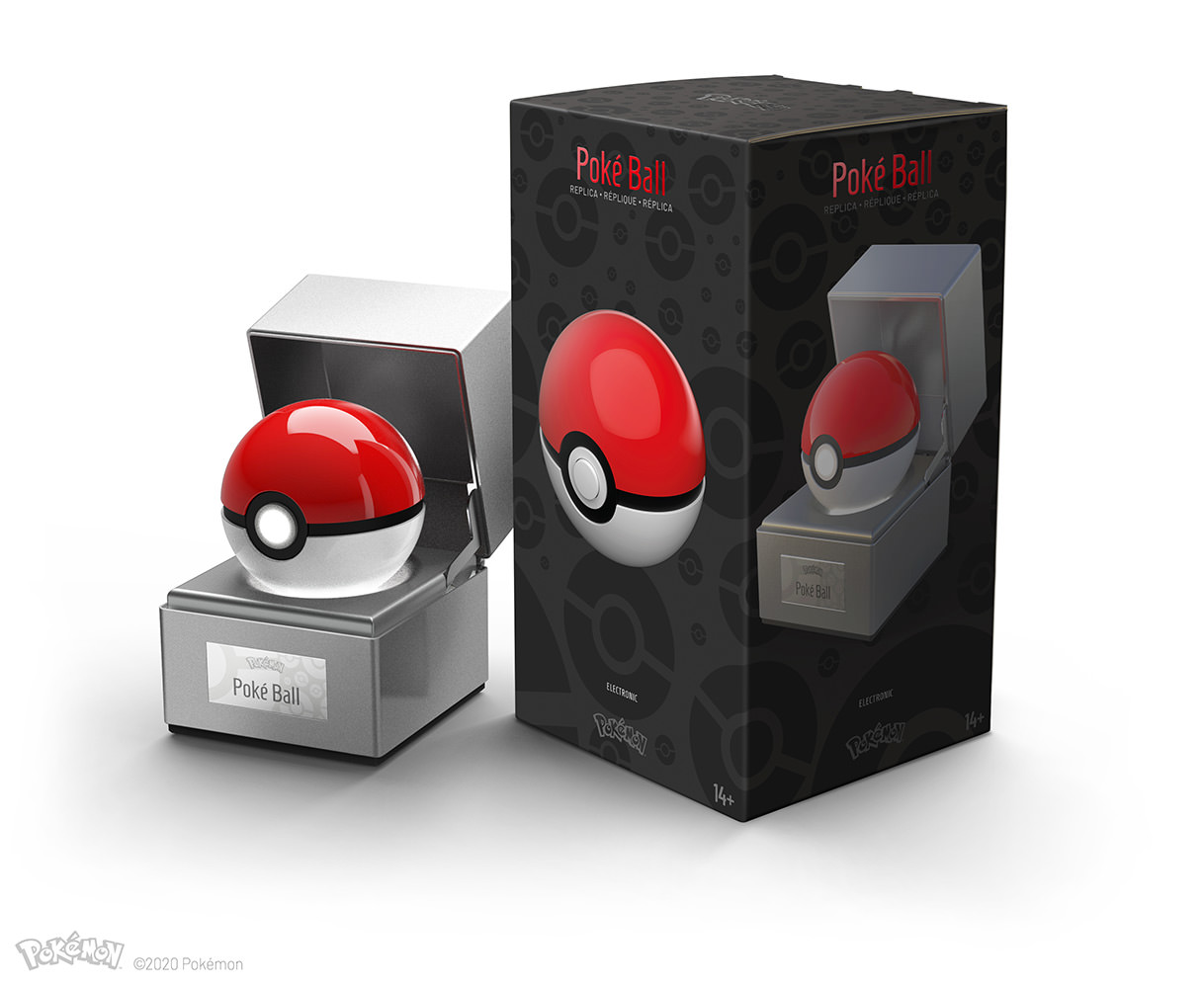 Poké Ball The Wand Company Promo Replica with Box