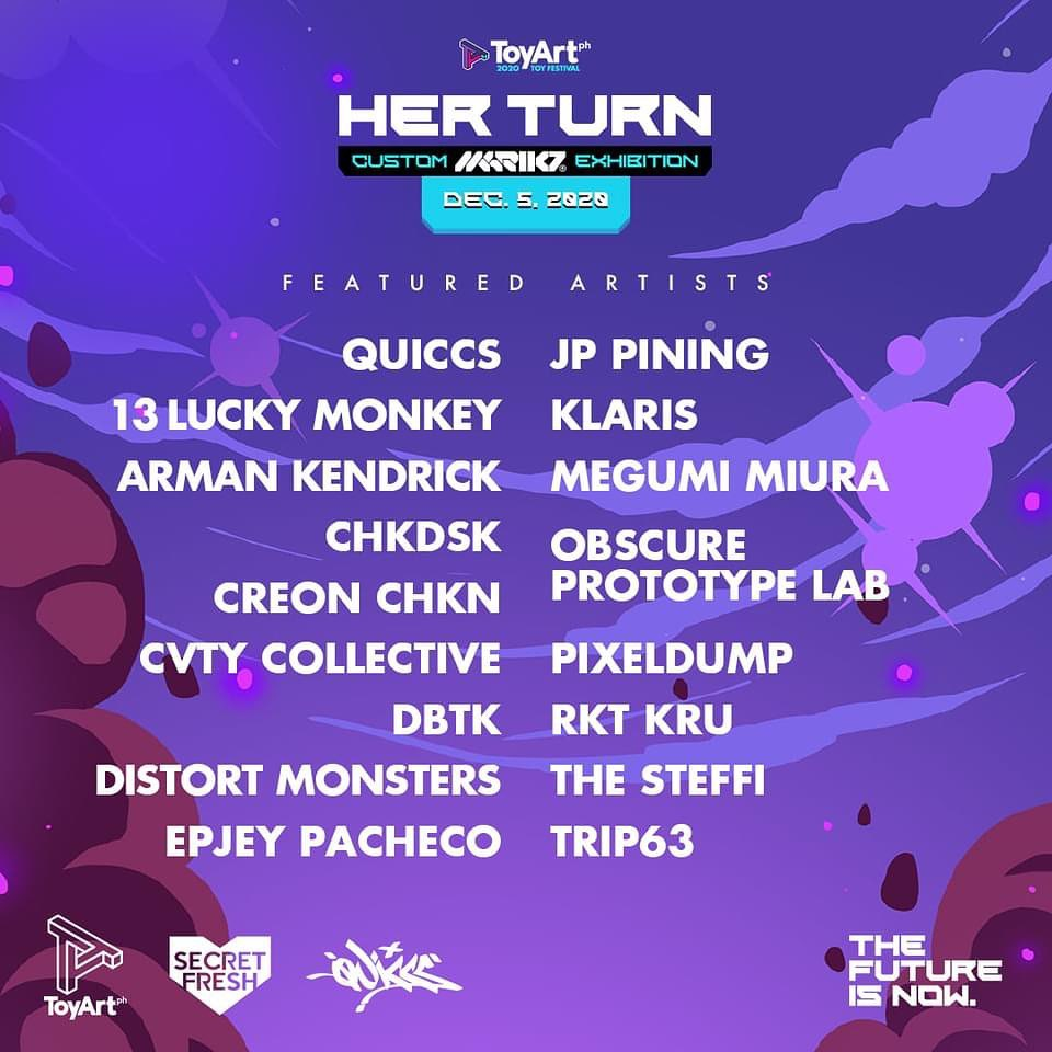 toy art philippines 2020 festival artist lineup