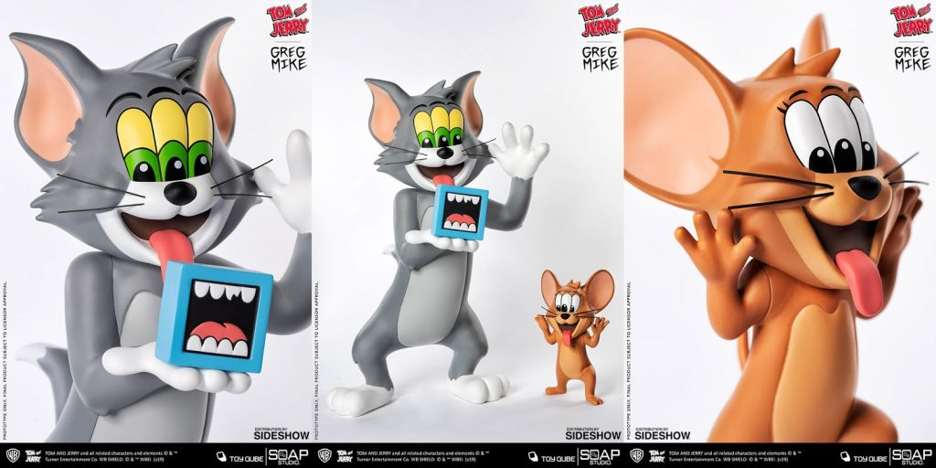 """Greg Mike's Tom & Jerry - """"Get Animated"""" Product Shots"""
