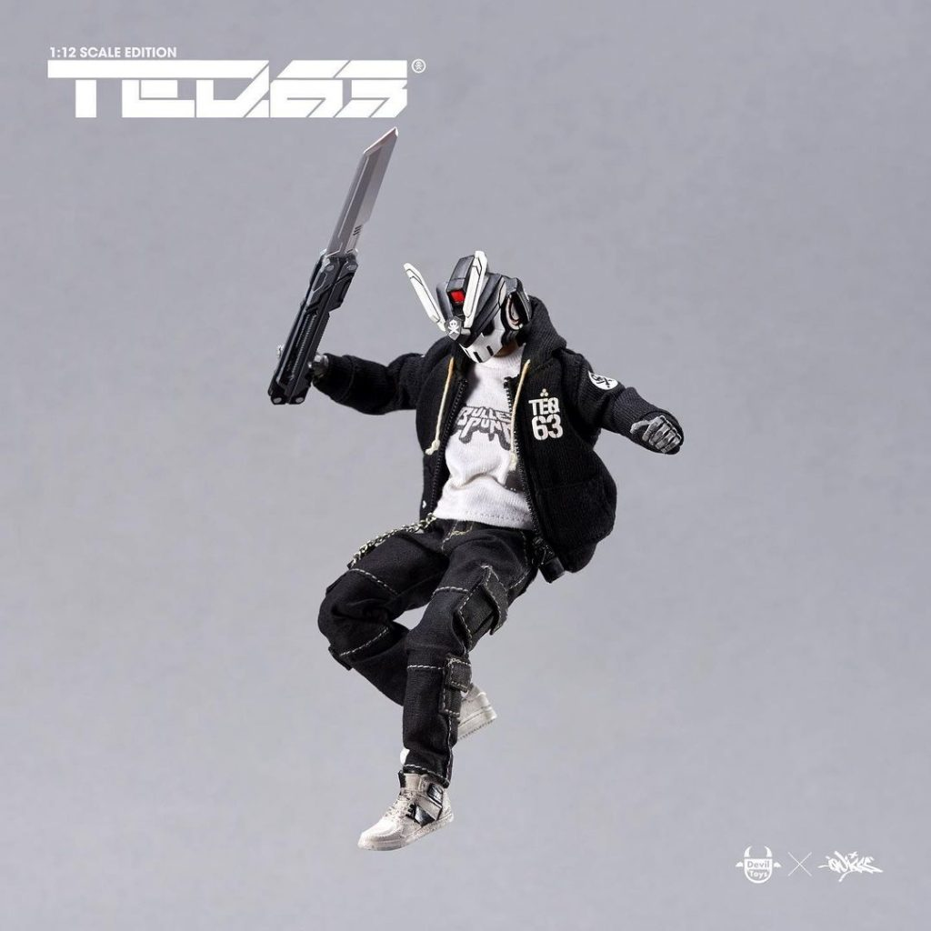 1:12 scale teq63 action pose