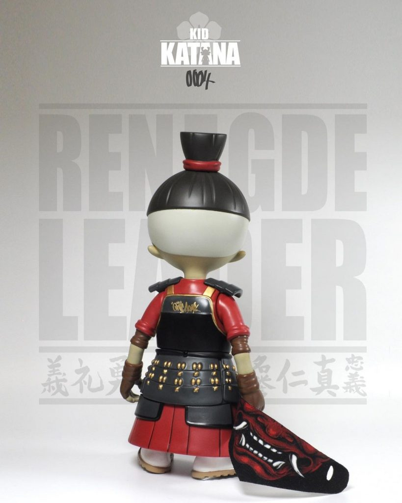 2petalrose kid katana 0004 renegade leader back shot