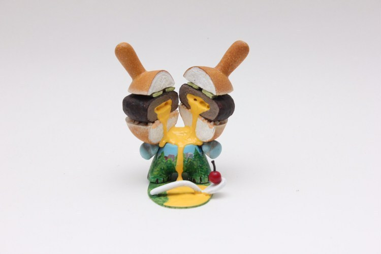 Juicy Lucy Burger Zard Apuya Custom Dunny