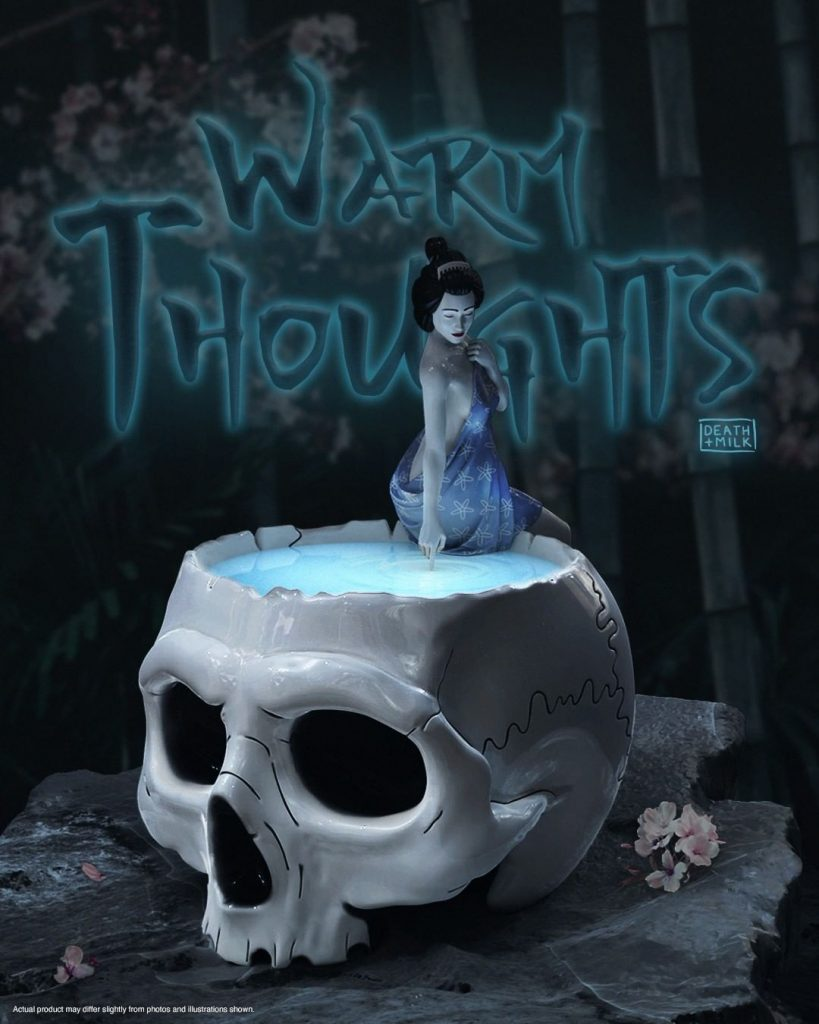 Mighty Jaxx Warm Thoughts Macabre Toy