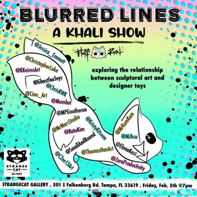blurred lines lineup graphic