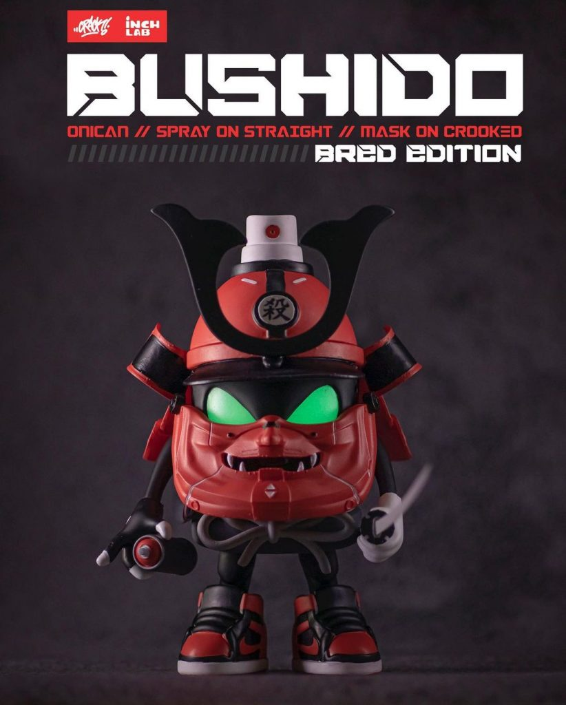 Bushido-Onican Bred Edition with glow in the dark eyes