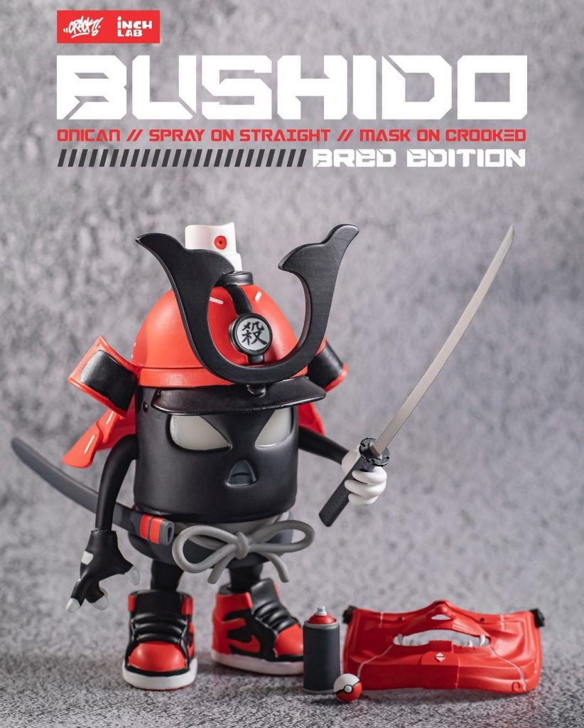 crack bushido oni can with accessories