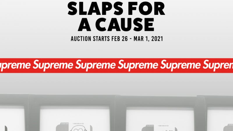 invasion toys supreme slaps for a cause promo image