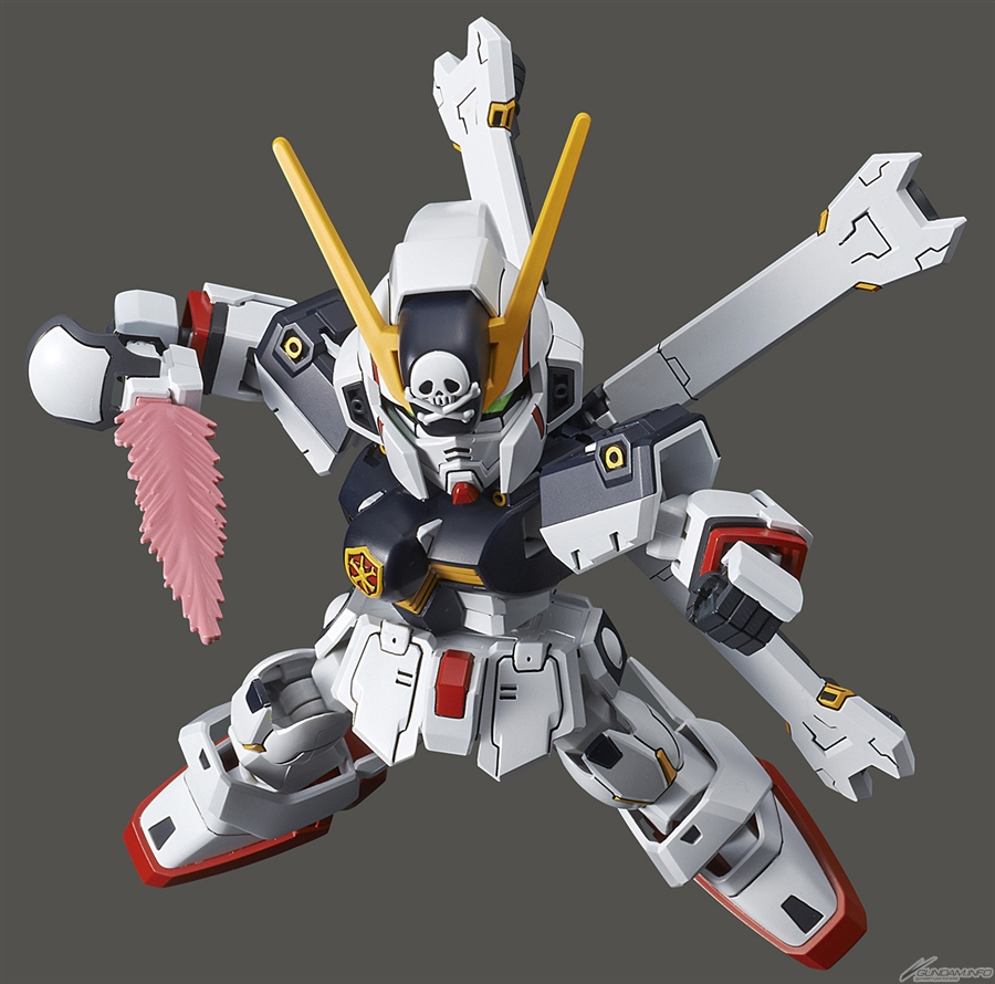 sd crossbone gundam model