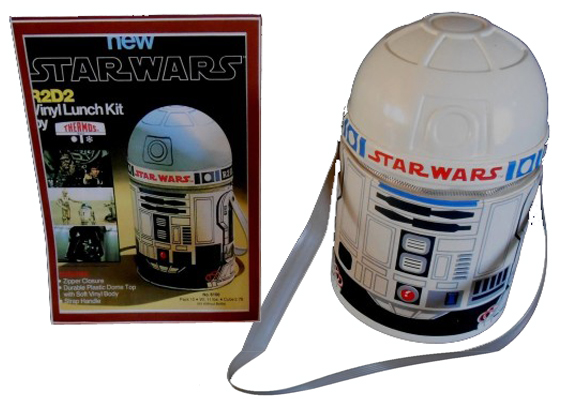 R2D2 Lunchbox Vinyl From 1977