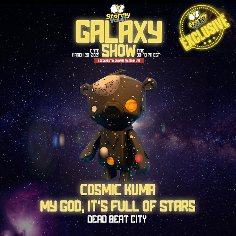 dead beat city cosmic kuma
