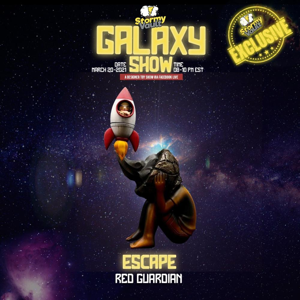 escape galaxy show custom by red guardian