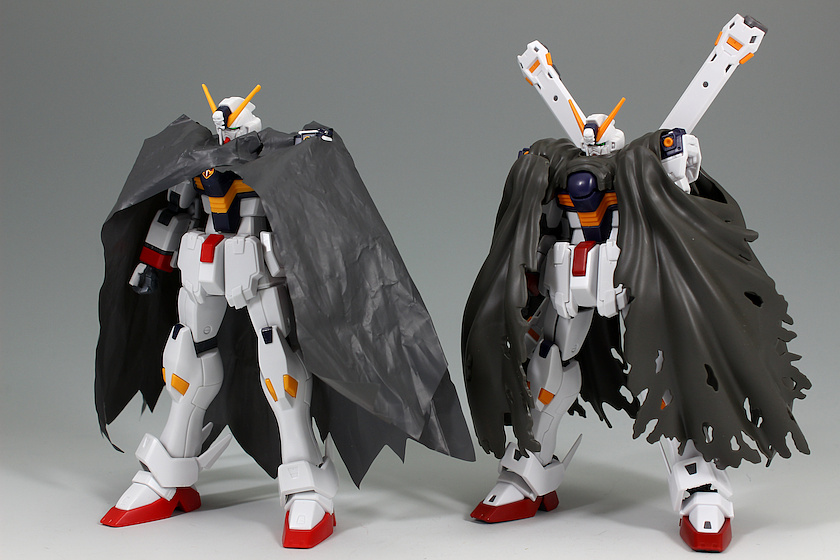 gundam crossbone high graded and real grade