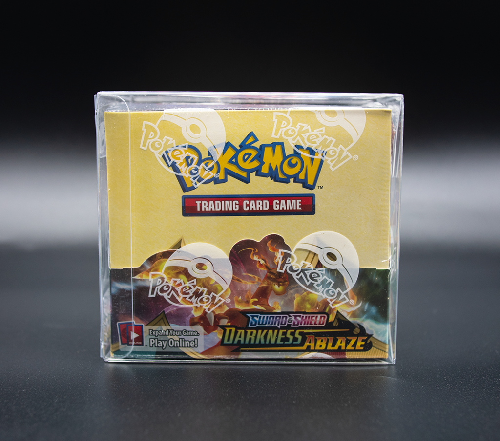 invasion toys pokemon booster box protector