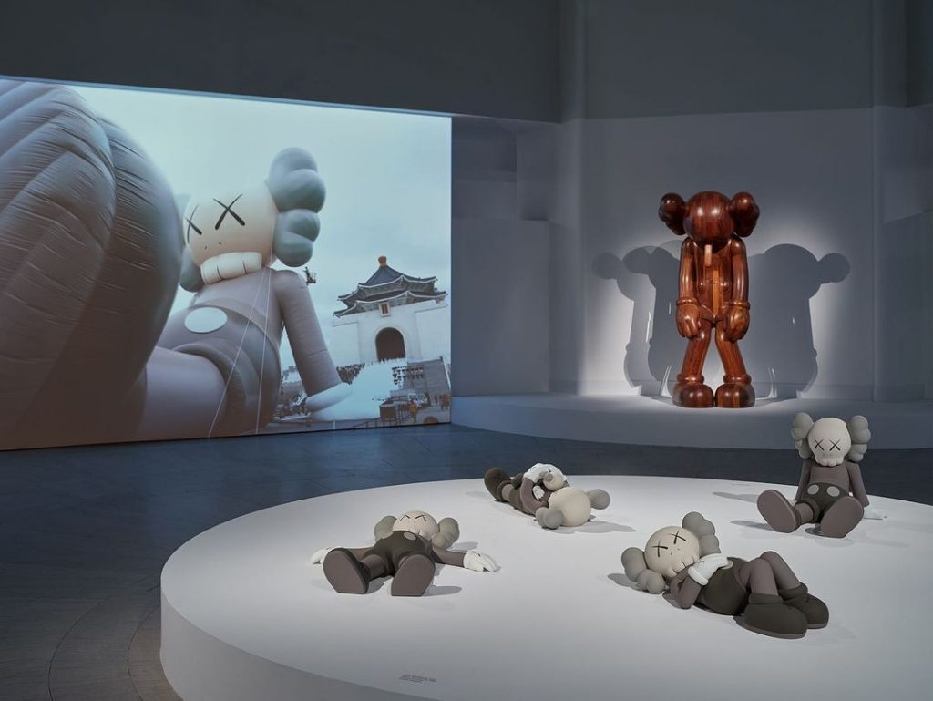 kaws what party brooklyn museum exhibition