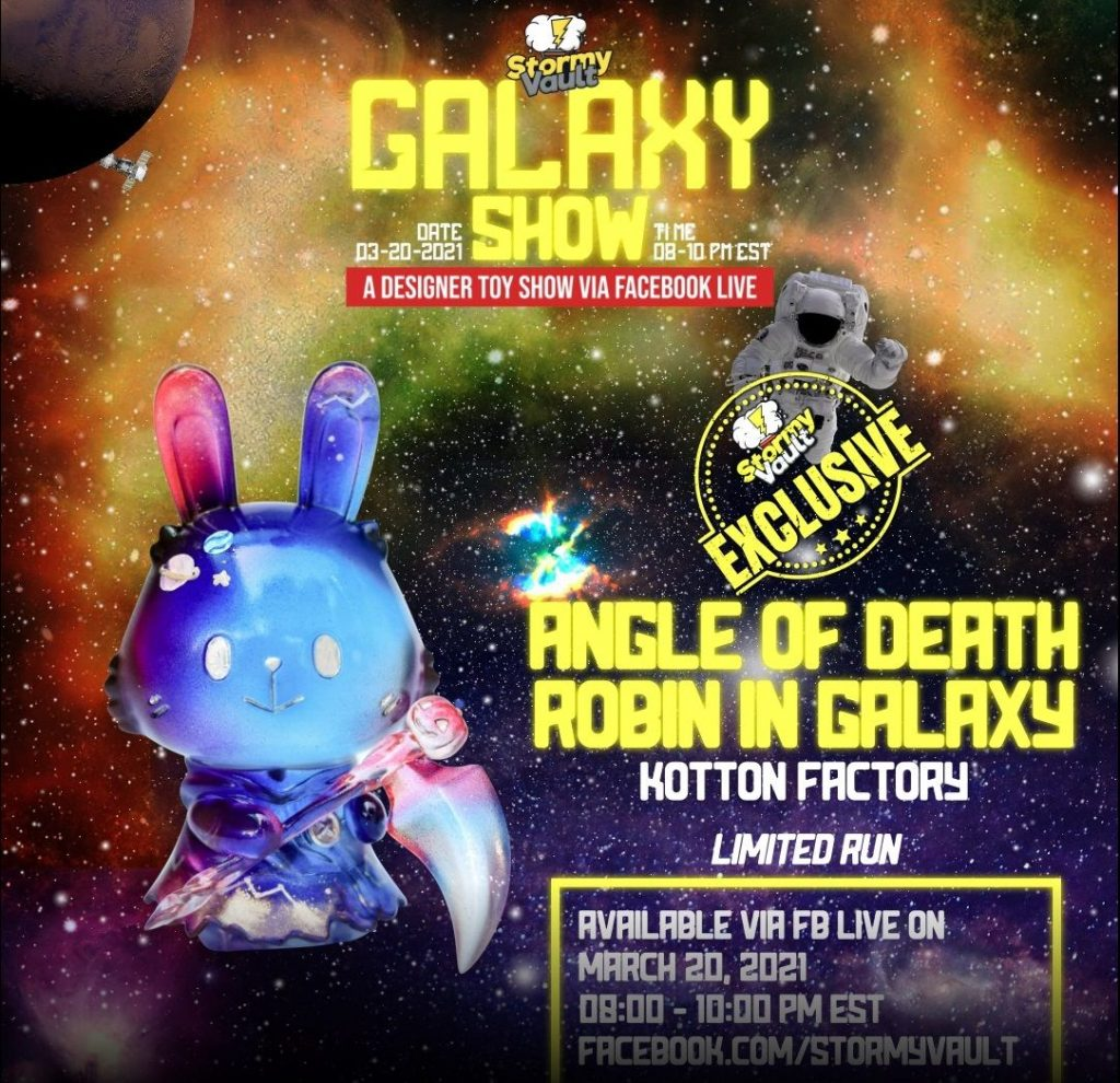 kotton factory's stormy vault galaxy show custom