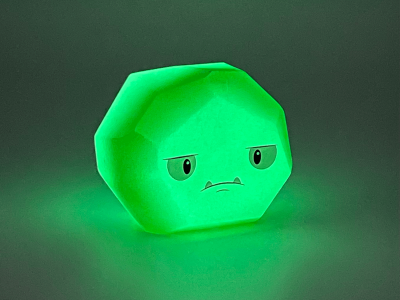 kryptonite gid grumpy coal glowing