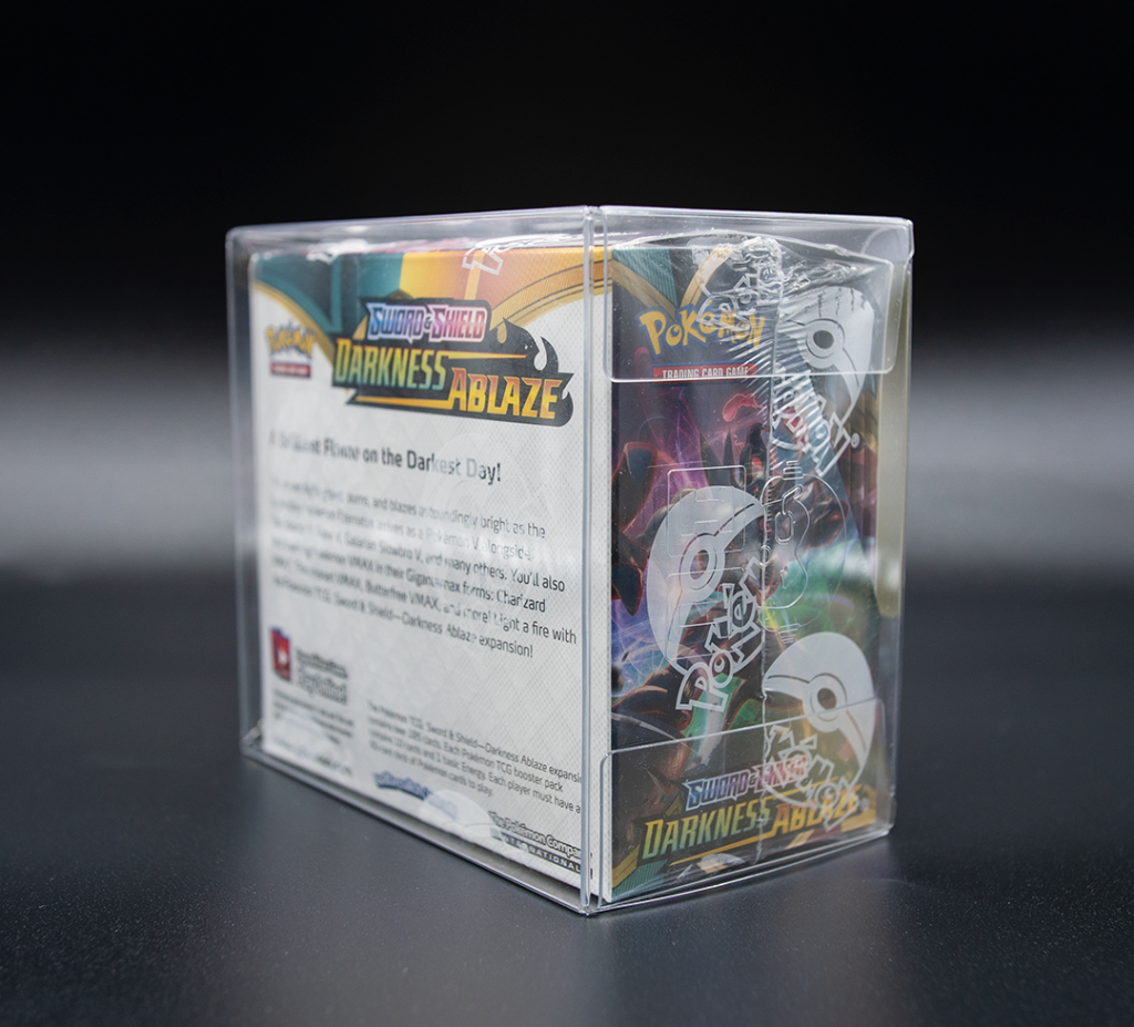 pokemon booster box protector rear cant