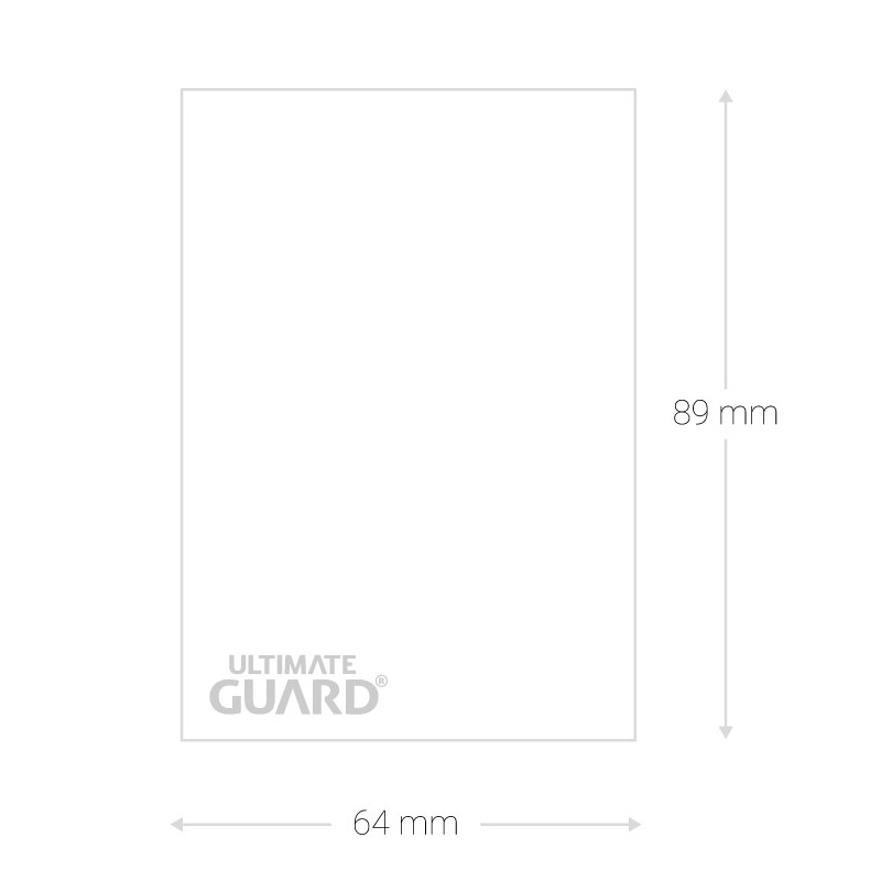 ultimate guard precise fit trading card sleeve dimensions