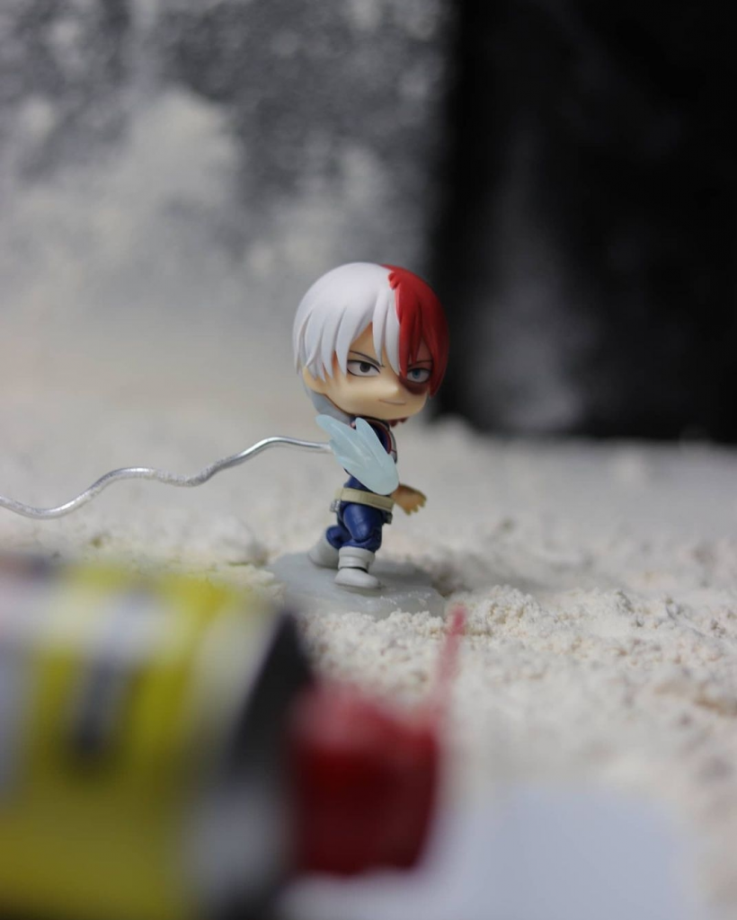 """""""Behind The Scenes"""" Good Smile Company X My Hero Academia 'Todoroki' Toy Photography by TJ Collects"""
