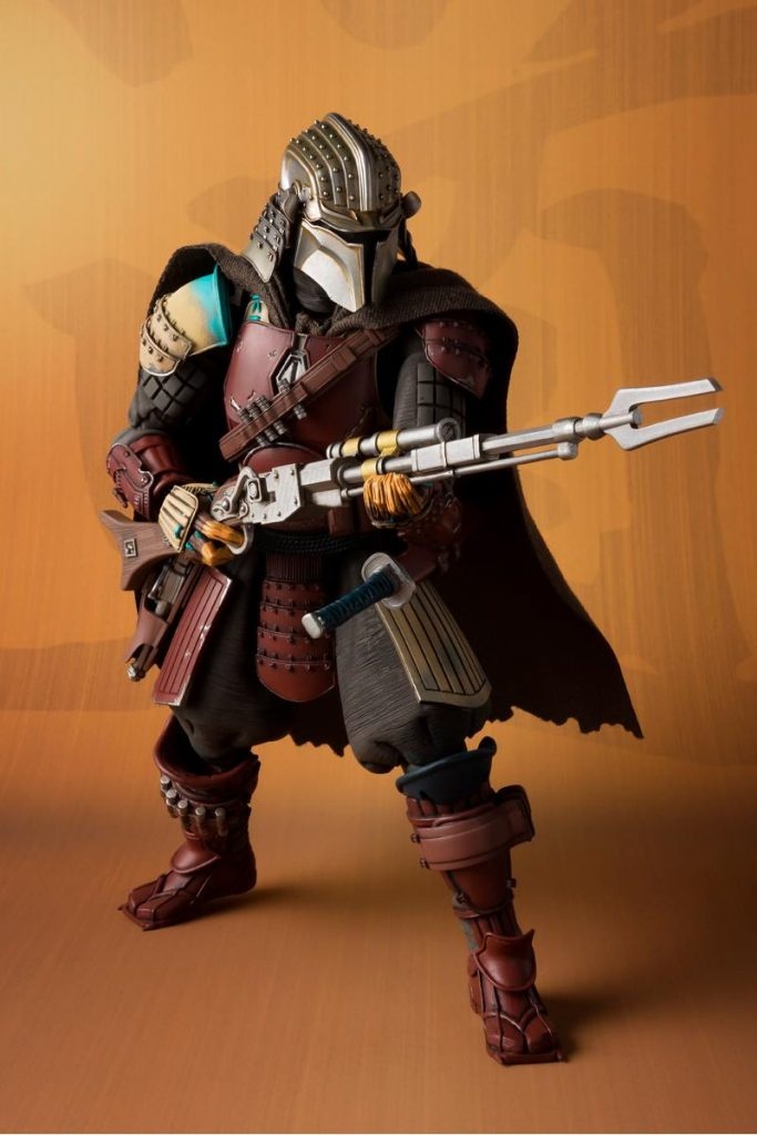 Bandai Movie Realization Mandalorian Premium Action Figure Promotional Image